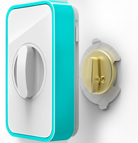 Lockitron l 39 iphone pour ouvrir la porte igeneration for Application iphone pour ouvrir porte garage