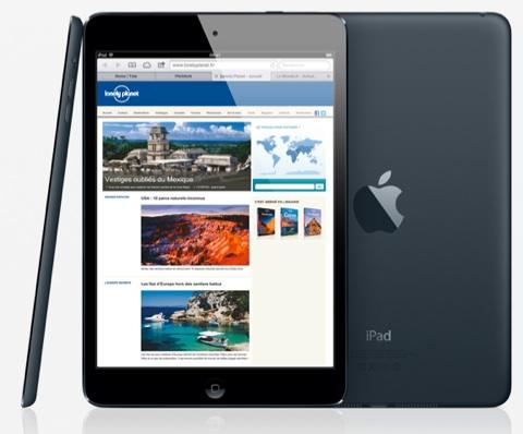 iPad mini, iPad 2 et iPad de 4ème génération : le point sur