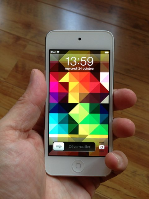 test de l 39 ipod touch 5g 2012 igeneration. Black Bedroom Furniture Sets. Home Design Ideas
