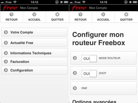 Ios Mon Compte Free Et Wifi Pour Freebox Igeneration