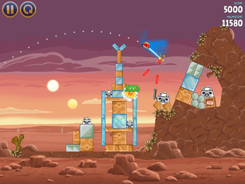 Test : Angry Birds Star Wars