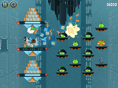 Angry Birds Star Wars disponible sur l'App Store !