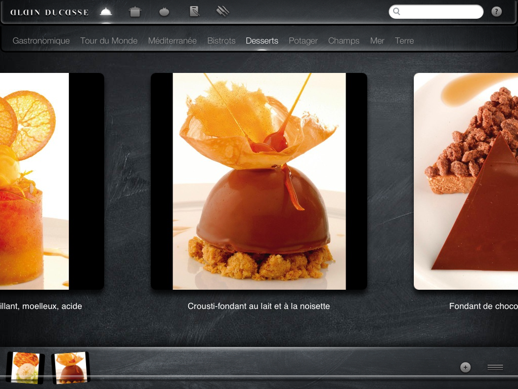 Alain Ducasse Adapte Son Grand Livre De Cuisine A L Ipad Igeneration