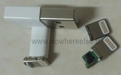 iPhone 5 : photo du nouveau câble Dock !