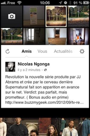 Appareil photo Facebook (Facebook Camera) disponible en France !