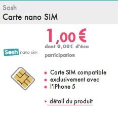carte nano sim sosh iPhone 5 : le casse tête de la nano SIM [MàJ] | iGeneration