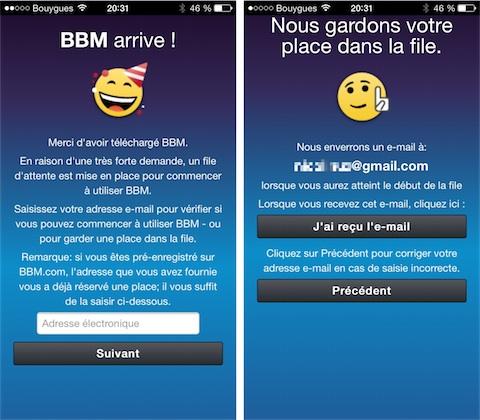 Rencontre contact bbm