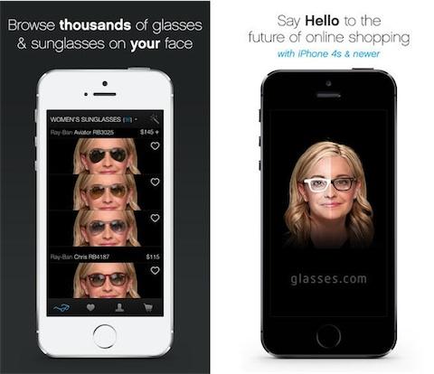 3e307194c5 Grâce à ce profil, glasses.com place des montures sur votre visage, comme  si vous les portiez vraiment. Il est même possible de modifier leur hauteur  et ...