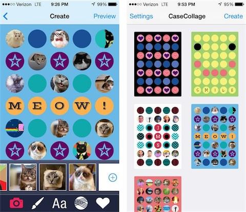 app store casecollage personnalise la coque trouee de l iphone c