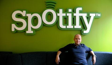 Daniel Ek, le CEO de Spotify