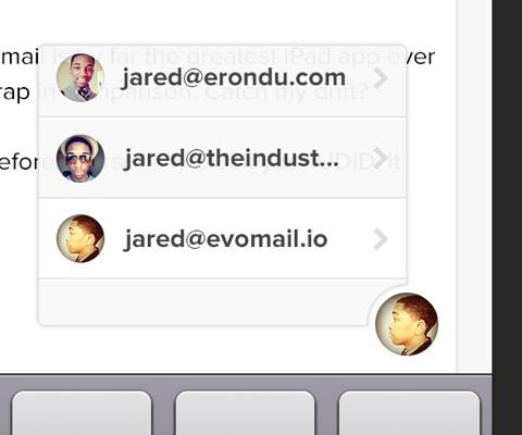 Evomail : un nouveau client Gmail sur l'iPad