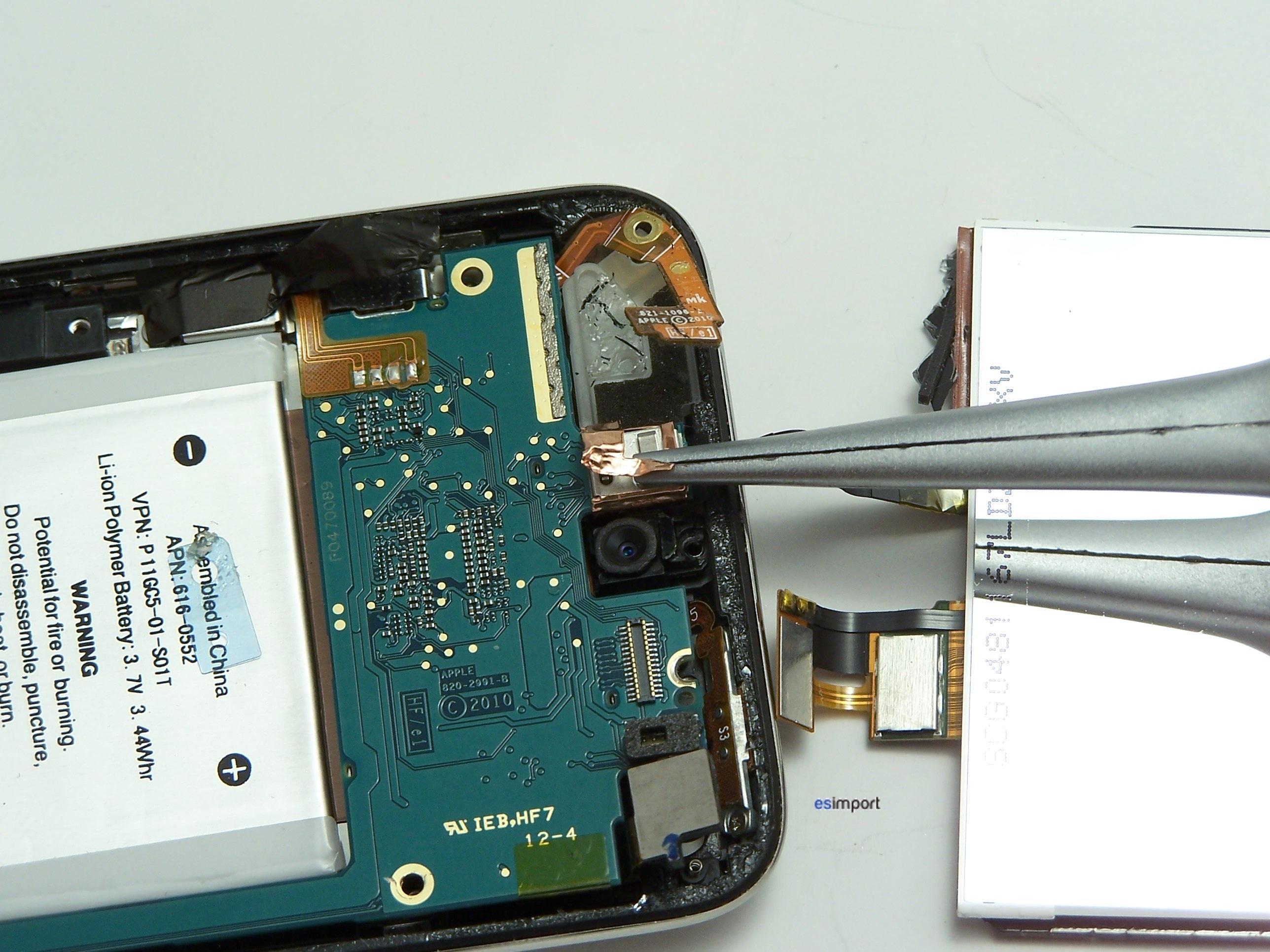 comment reparer ecran ipod touch
