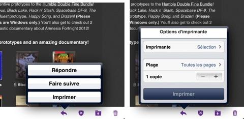 Yahoo mail imprime les emails et les pi ces jointes - Application pour mesurer une piece ...