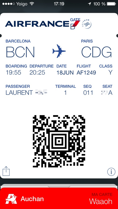 Air France Adopte Passbook M 224 J Igeneration