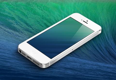Un Fond D Ecran Pour Iphone Inspire Par Mavericks Igeneration