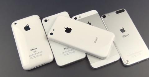 tout les iphone 5