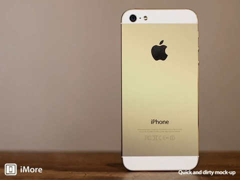 iPhone champagne