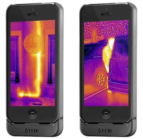 flir one une cam ra infrarouge pour iphone igeneration. Black Bedroom Furniture Sets. Home Design Ideas