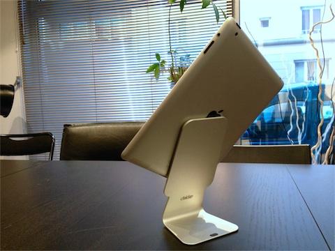 test du support pour ipad slope igeneration. Black Bedroom Furniture Sets. Home Design Ideas
