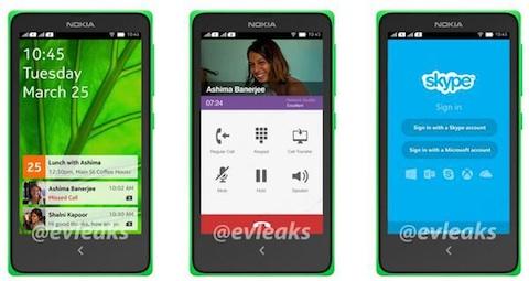 Le Nokia X, qui sera présenté demain matin.