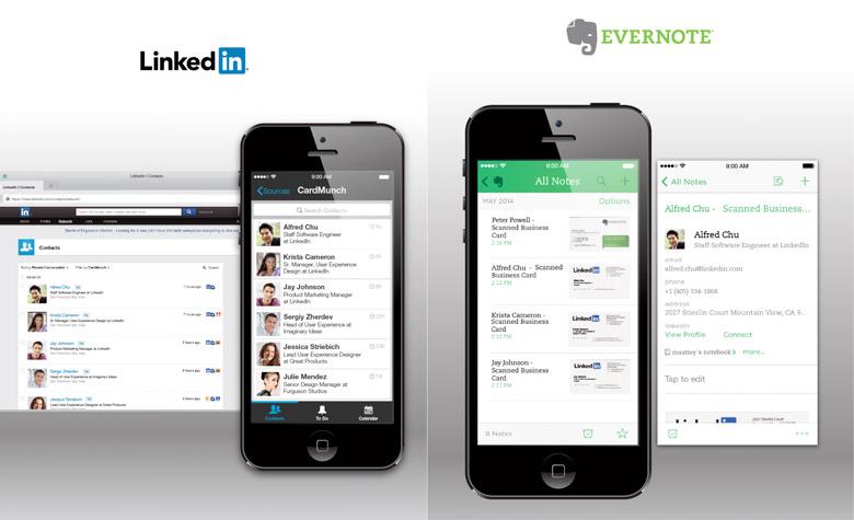 Afin De Faire Passer La Pilule LinkedIn Offre Aux Utilisateurs CardMunch Deux Ans Dabonnement Au Service Premium Numrisation Cartes Visite